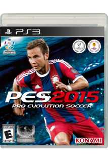 PES 2015 ( Pro Evolution Soccer 2015 ) [PS3]