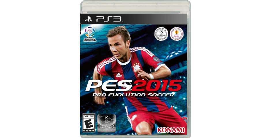 PES 2015 ( Pro Evolution Soccer 2015 ) [PS3]