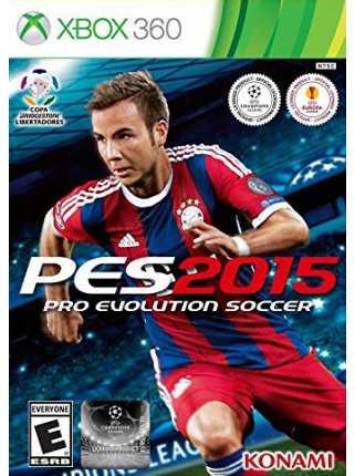 PES 2015 ( Pro Evolution Soccer 2015 ) [XBOX 360]