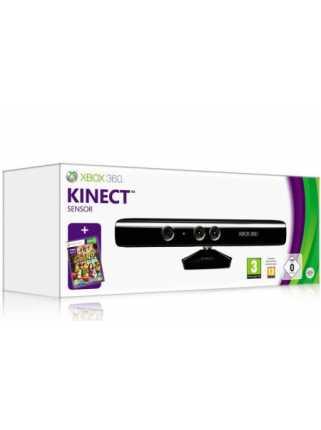 Kinect Sensor Black для Xbox 360 Slim + Kinect Adventures
