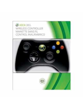 Microsoft Wireless Controller Black (беспроводной)