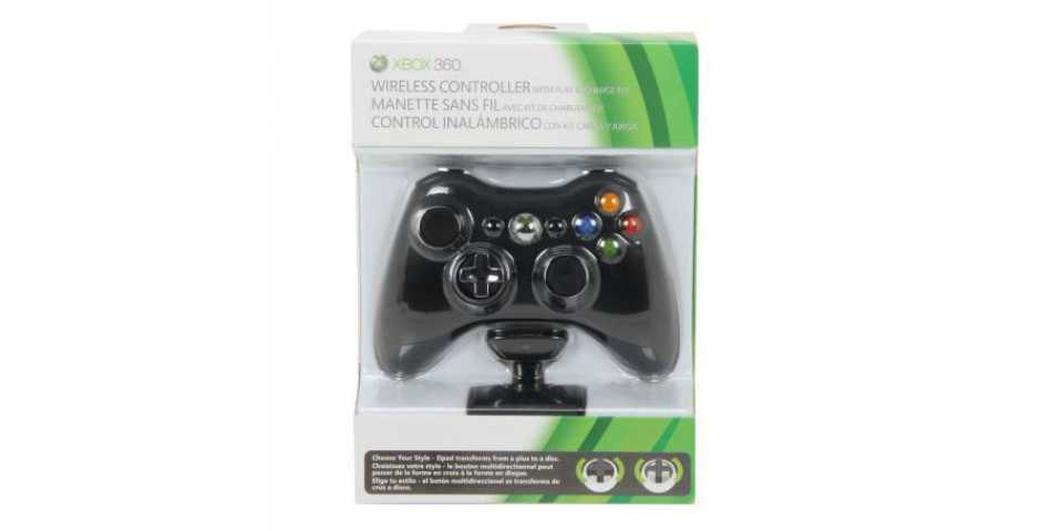 Microsoft Wireless Controller Black +  play & charge kit