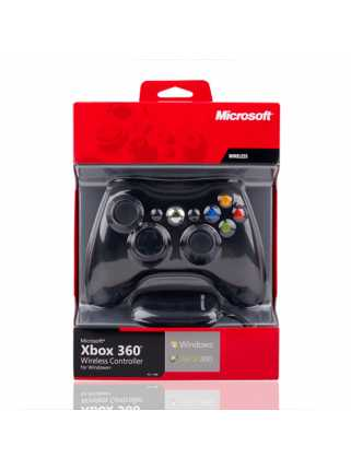 Microsoft Xbox 360 Wireless Controller for Windows (беспроводной с ресивером)