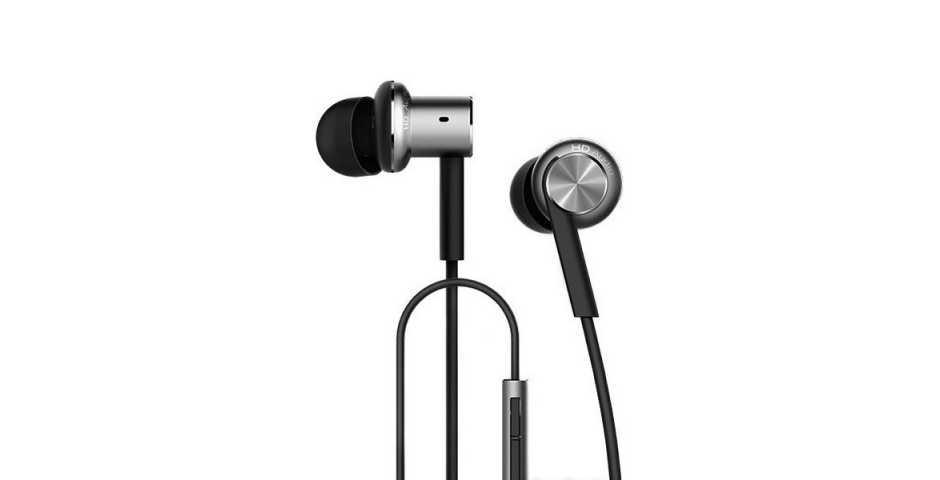 Наушники с микрофоном Xiaomi Mi In-Ear Headphones Pro (черный)