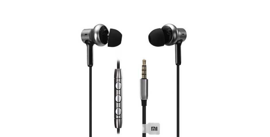 Наушники с микрофоном Xiaomi Mi In-Ear Headphones Pro HD