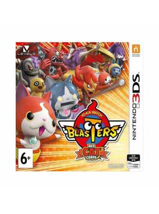 Yo-kai Watch Blasters: Red Cat Corps (Английская версия) [3DS]