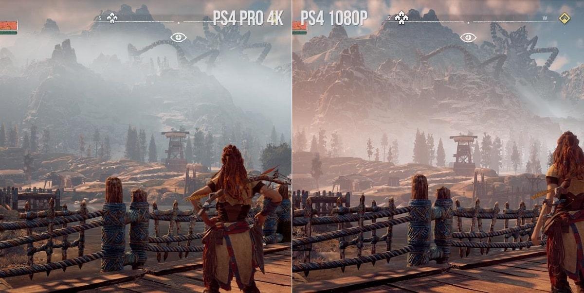 Сравнение PlayStation 4 Pro и PS4.