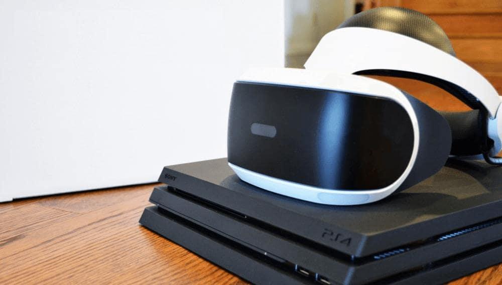 PS VR для PlayStation 4 Pro.
