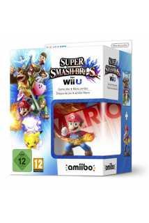 Комплект игра Super Smash Bros. + Amiibo: Mario  [WiiU]