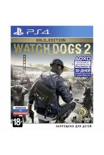Watch Dogs 2 Gold Edition  [PS4, русская версия]