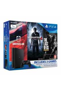 Sony PlayStation 4 Slim (1TB) Gamer Pack Bundle