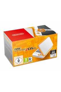 New Nintendo 2DS XL (белый + оранжевый)