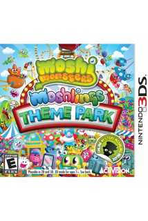 Moshi Monsters Moshlings Theme Park [3DS] US