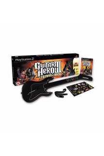 Guitar Hero III: Legends of Rock (Игра + Гитара) [PS2]
