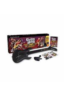 Guitar Hero: Aerosmith (Игра + Гитара) [PS2]
